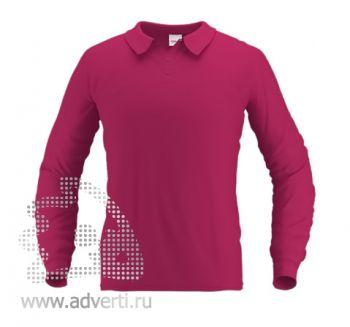 Рубашка поло «Stan Polo», мужская, бордовая