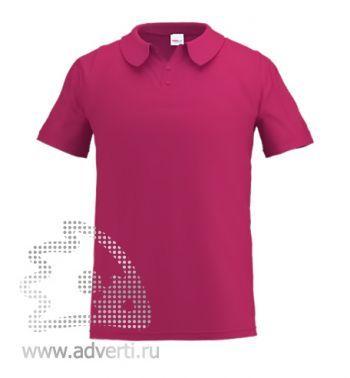 Рубашка поло «Stan Primier», мужская, бордовая