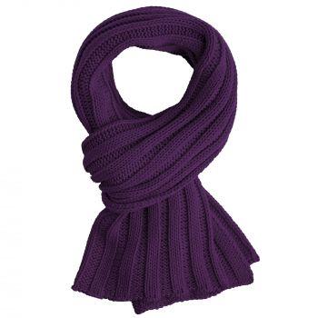 Набор «Heat The Road», фиолетовый, шарф