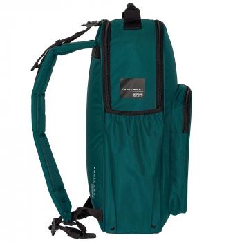Рюкзак «EQT Classic», тёмно-зелёный, вид сбоку