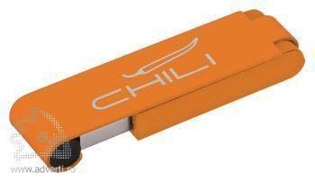 Флеш-карта «Case» Chili, оранжевая