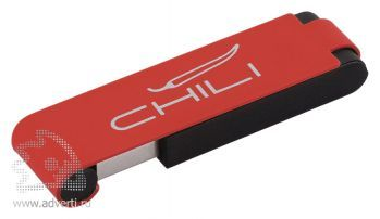 Флеш-карта «Case» Chili, красная