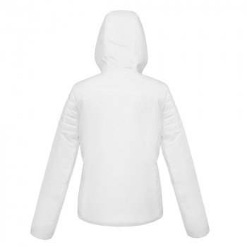 Куртка женская Cytins, белая, вид сзади