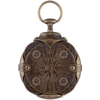 Флешка «Криптекс»® Compass Lock, с одной стороны