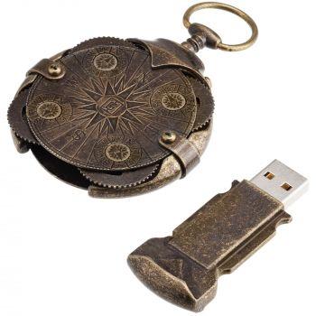 Флешка «Криптекс»® Compass Lock, в разобранном виде