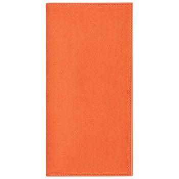 Органайзер для авиабилетов «Twill», оранжевый, вид спереди