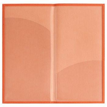Органайзер для авиабилетов «Twill», оранжевый, в открытомв виде