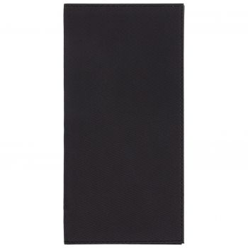 Органайзер для авиабилетов «Twill», чёрный, вид спереди