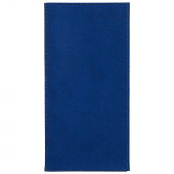 Органайзер для авиабилетов «Twill», синий, вид спереди