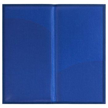 Органайзер для авиабилетов «Twill», синий, в открытом виде