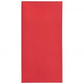 Органайзер для авиабилетов «Twill», красный, вид спереди