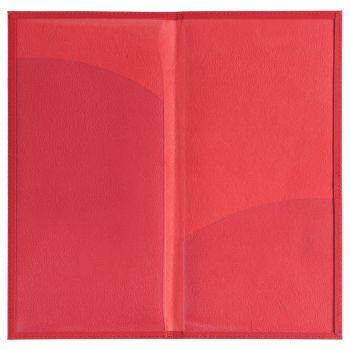 Органайзер для авиабилетов «Twill», красный, в открытом виде