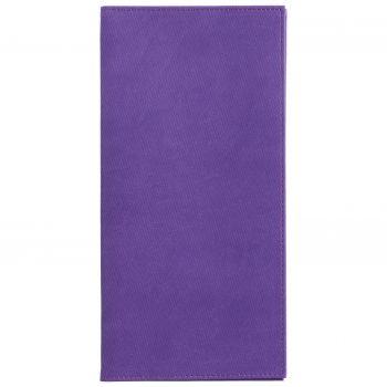 Органайзер для авиабилетов «Twill», фиолетовый, вид спереди