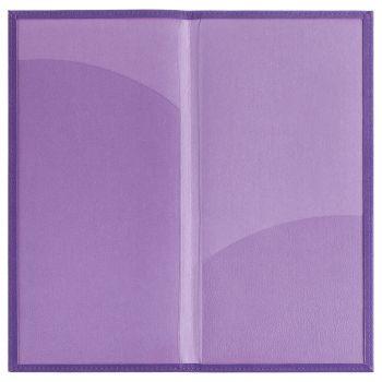 Органайзер для авиабилетов «Twill», фиолетовый, в открытом виде