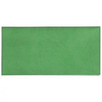 Органайзер для авиабилетов «Twill», зелёный, вид спереди