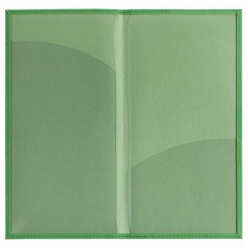 Органайзер для авиабилетов «Twill», зелёный, в открытом виде