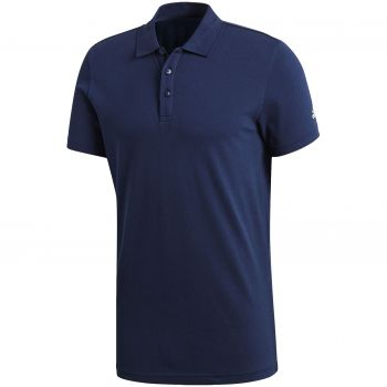 Рубашка поло «Essentials Base», синяя