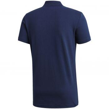 Рубашка поло «Essentials Base», синяя, вид сзади