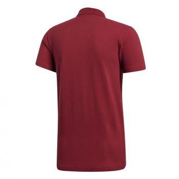 Рубашка поло «Essentials Base», красная, вид сзади