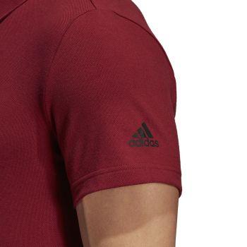 Рубашка поло «Essentials Base», красная, рукав