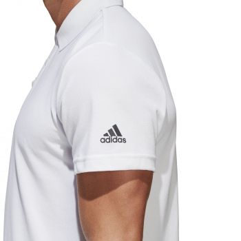 Рубашка поло «Essentials Base», белая, рукав