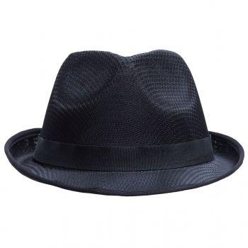 Шляпа «Gentleman» с черной лентой, вид спереди