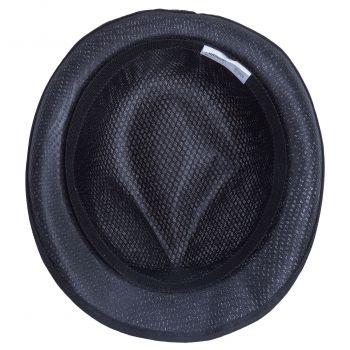 Шляпа «Gentleman» с черной лентой, вид снизу