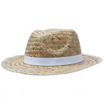 Шляпа «Daydream», бежевая с черной лентой