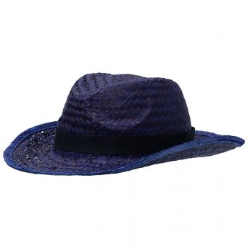 Шляпа «Daydream», синяя с черной лентой