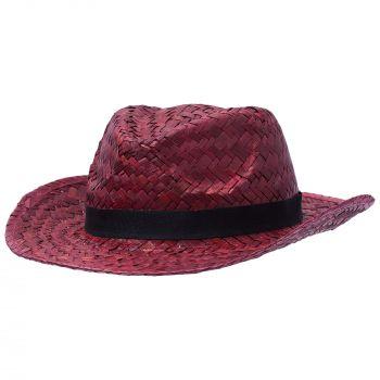 Шляпа «Daydream», красная с черной лентой