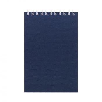Блокнот «Nettuno Mini», А6, синий, вид спереди