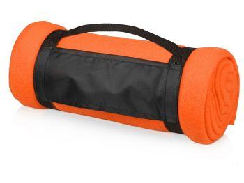 Подарочный набор «Cozy» с пледом и термокружкой, оранжевый, плед