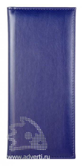 Визитницы «Nappa», синие