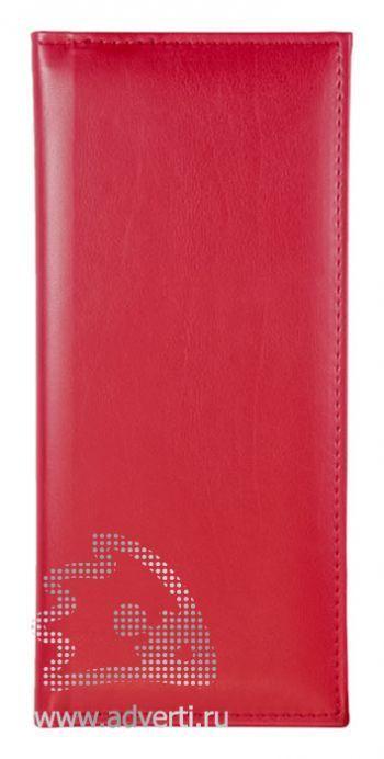 Визитницы «Nappa», красные