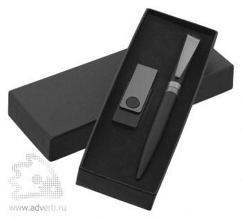 Набор ручка «I-ROQ» + флеш-карта «Twistasofttouch» Klio Eterna