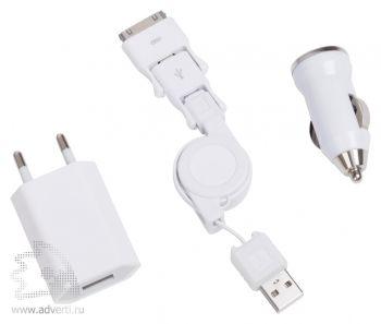 Набор переходников и зарядных устройств «Comfort»