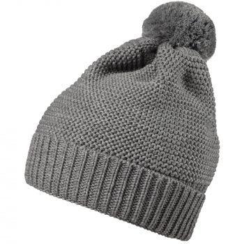 Набор «Snowballs», серый, шапка