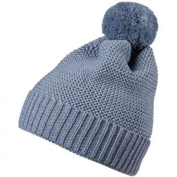 Набор «Snowballs», голубой, шапка