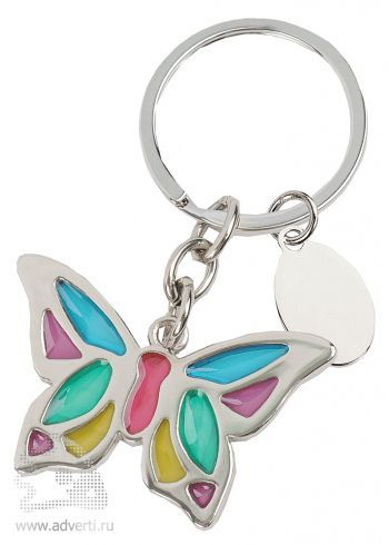 Брелок с шильдом «Бабочка»