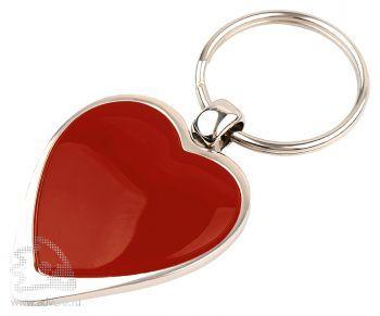 Брелок «Heart», красный