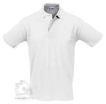 Рубашка поло «Season 170», мужская, белая