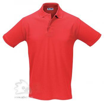 Рубашка поло «Season 170», мужская, красная