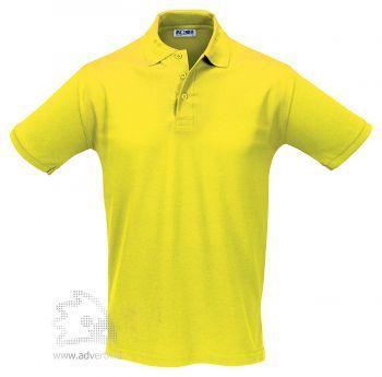 Рубашка поло «Season 170», мужская, желтая