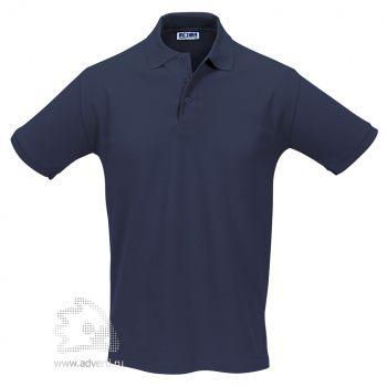 Рубашка поло «Season 170», мужская, темно-синяя