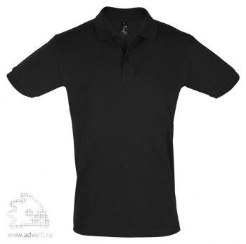 Рубашка поло «Perfect Men 180», мужская, черная