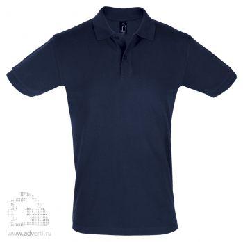 Рубашка поло «Perfect Men 180», мужская, темно-синяя
