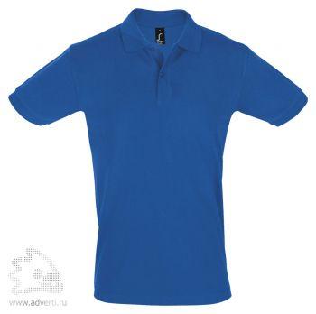Рубашка поло «Perfect Men 180», мужская, синяя