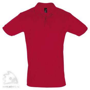 Рубашка поло «Perfect Men 180», мужская, красная