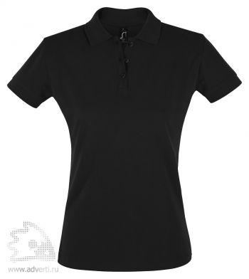 Рубашка поло «Perfect women 180», женская, черная