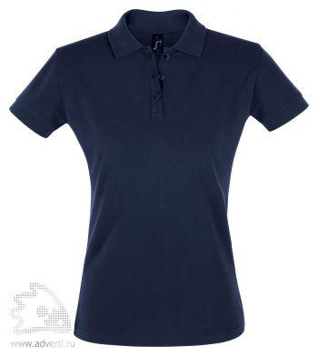 Рубашка поло «Perfect women 180», женская, темно-синяя